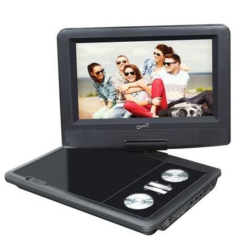 Supersonic 7-inch Dvd Player With Tv Tuner (pack of 1 Ea)