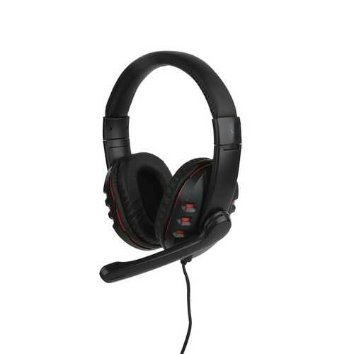 Lvlup Artillery Gaming Headset (red) (pack of 1 Ea)