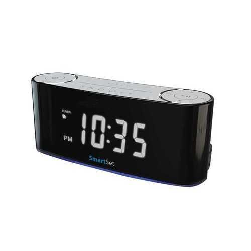 Sylvania Bluetooth Smart Set Mood Light Clock Radio (pack of 1 Ea)