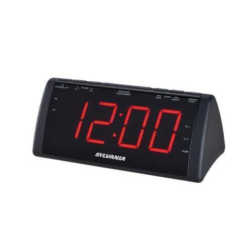 Sylvania 1.8-inch Screen Usb Clock Radio (pack of 1 Ea)