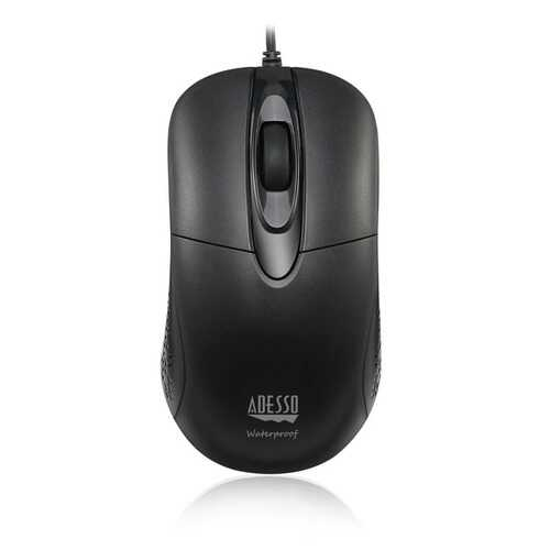 Adesso Imouse W4 Anti-microbial Waterproof Optical Usb Mouse (pack of 1 Ea)