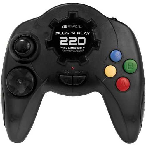 My Arcade Plug 'n Play Controller With 220 Games (pack of 1 Ea)