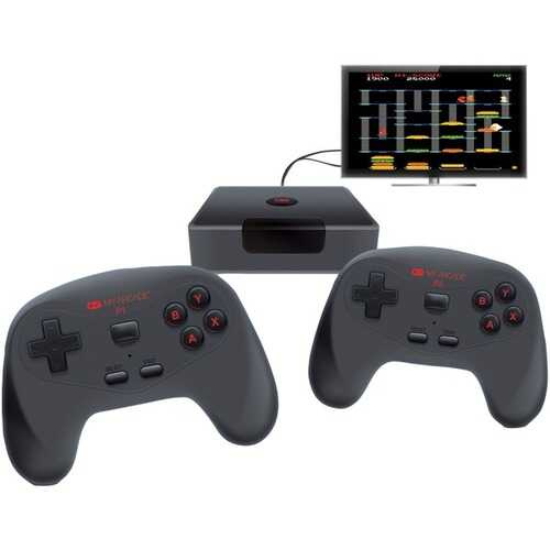My Arcade Gamestation Wireless Plug & Play Game Console With 2 Controllers (pack of 1 Ea)