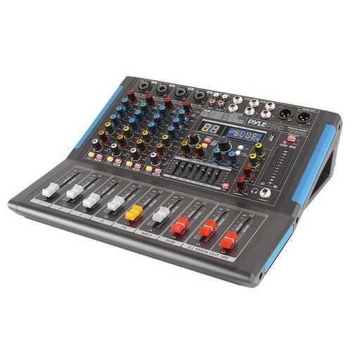 Pyle 4-channel Bluetooth Studio Pro Audio Dj Mixer (pack of 1 Ea)