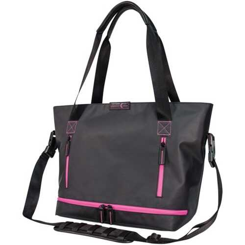 Crescent Moon Studio Tote (black And Violet) (pack of 1 Ea)