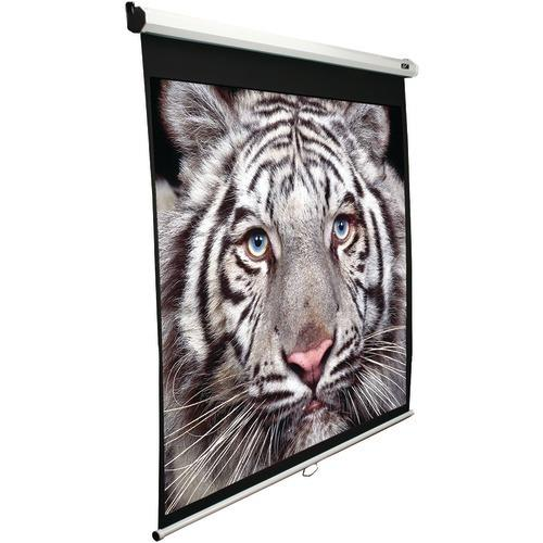 """Elite Screens 100"""" Manual Pull-down B Series Projection Screen (4:3 Format; 60"""" X 80"""") (pack of 1 Ea)"""