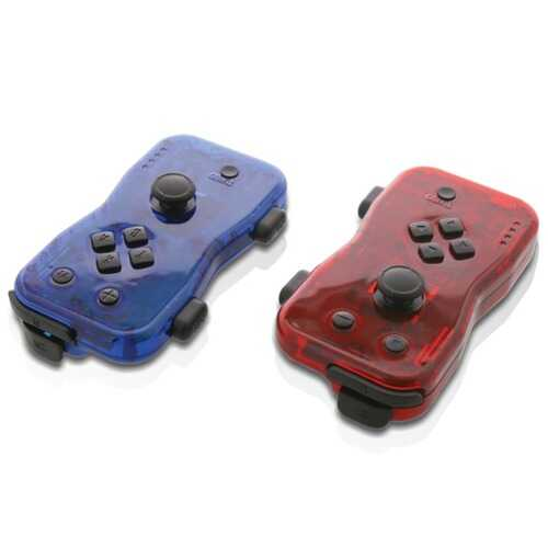 Nyko Dualies Motion Controller Set For Nintendo Switch (red And Blue) (pack of 1 Ea)