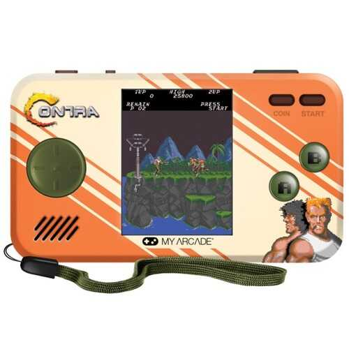 My Arcade Contra Pocket Player (pack of 1 Ea)
