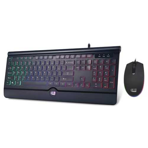 Adesso Illuminated Gaming Keyboard And Illuminated Mouse Combo (pack of 1 Ea)