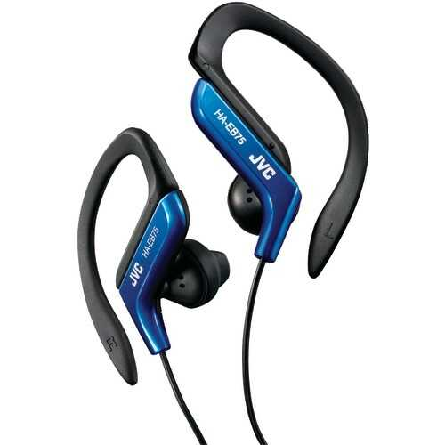 Jvc Ear-clip Earbuds (blue) (pack of 1 Ea)