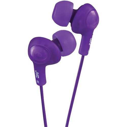 Jvc Gumy Plus Inner-ear Earbuds (violet) (pack of 1 Ea)