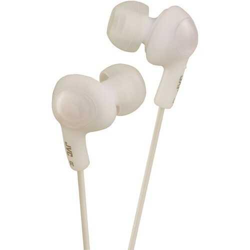 Jvc Gumy Plus Inner-ear Earbuds (white) (pack of 1 Ea)