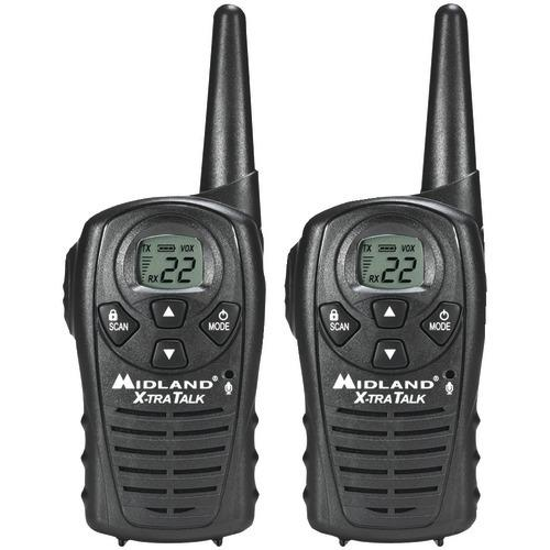 Midland 18-mile Gmrs Radio Pair Pack (pack of 1 Ea)