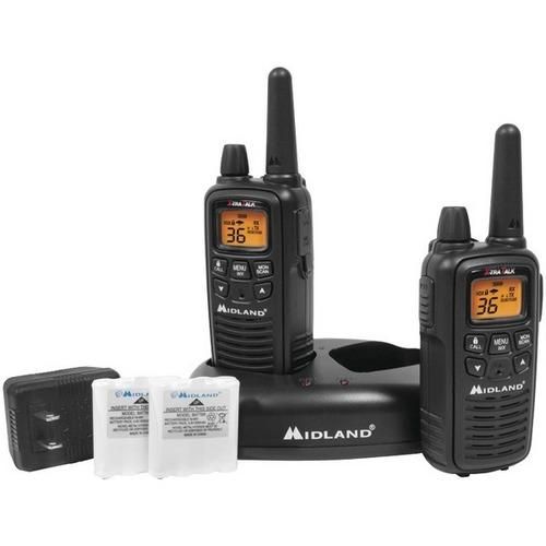 Midland 30-mile Gmrs Radio Pair Pack With Drop-in Charger & Rechargeable Batteries (pack of 1 Ea)