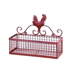 Rooster Single Wall Basket (pack of 1 EA)