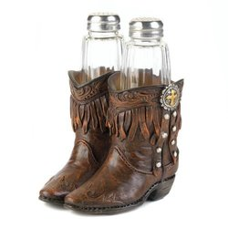 Cowboy Boots Shaker Set (pack of 1 SET)