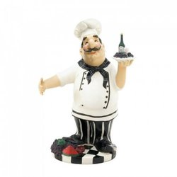 Chef Wine Bottle Holder (pack of 1 EA)