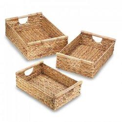 Water Hyacinth Nesting Basket Set (pack of 1 SET)