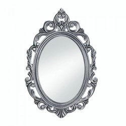 Silver Royal Crown Wall Mirror (pack of 1 EA)