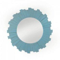 Blue Sunburst Wall Mirror (pack of 1 EA)