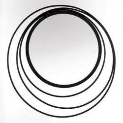 Three Ring Wall Mirror (pack of 1 EA)