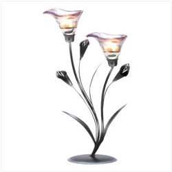 Calla Lily Candleholder (pack of 1 EA)