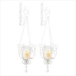 Bedazzling Pendant Sconce Duo (pack of 1 PR)