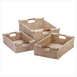 Corn Husk Nesting Baskets (pack of 1 SET)