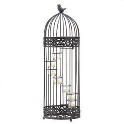 Birdcage Staircase Candle Stand (pack of 1 EA)