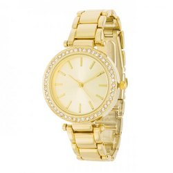 Gold Watch With Embezzled Dial (pack of 1 ea)