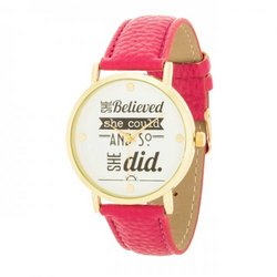 Fashion Inspiration Watch (pack of 1 ea)