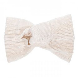 Off White Alison Knotted Knit Headband (pack of 1 ea)