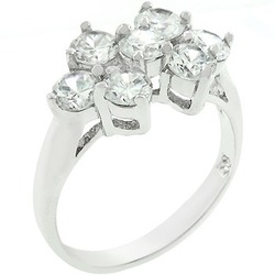 Cluster Ring (size: 07) (pack of 1 EA)
