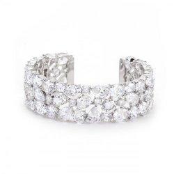 Bejeweled Cz Cuff (pack of 1 ea)
