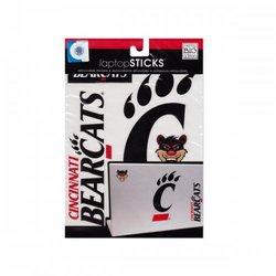 Cincinnati Bearcats Removable Laptop Stickers (pack of 24)