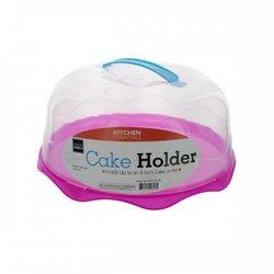 Plastic Cake Holder Assorted Color Bases (pack of 4)