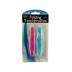 Folding Travel Toothbrushes (pack of 24)
