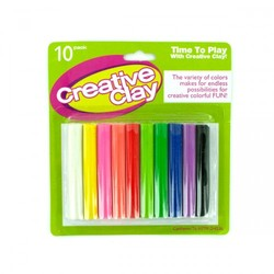 10pc Modeling Clay Set (pack of 12)