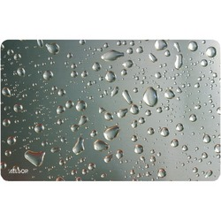 Allsop Widescreen Metallic Raindrop Mouse Pad (pack of 1 Ea)