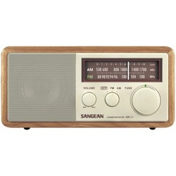 Sangean Wood Cabinet Am And Fm Tabletop Radio (pack of 1 Ea)