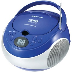 Naxa Portable Cd And Mp3 Players With Am And Fm Stereo (blue) (pack of 1 Ea)