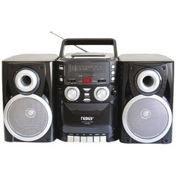 Naxa Portable Cd Player With Am And Fm Radio, Cassette & Detachable Speakers (pack of 1 Ea)