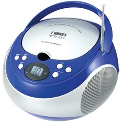 Naxa Portable Cd Player With Am And Fm Radio (blue) (pack of 1 Ea)