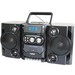 Naxa Portable Cd And Mp3 Player With Am And Fm Radio, Detachable Speakers, Remote & Usb Input (pack of 1 Ea)