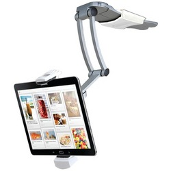 "Cta Digital Ipad Air And Ipad Mini And Surface Pro 4 & 7""-12"" Tablets 2-in-1 Kitchen Mount Stand (pack of 1 Ea)"