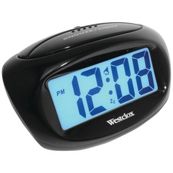 Westclox Large Easy-to-read Lcd Battery Alarm Clock (pack of 1 Ea)
