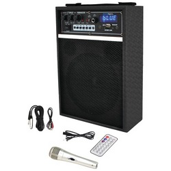 "Pyle Pro 300-watt Bluetooth 6.5"" Portable Pa Speaker System (pack of 1 Ea)"