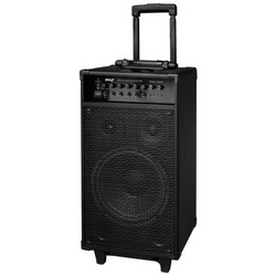 Pyle Pro 800-watt Portable Bluetooth Pa Speaker System (pack of 1 Ea)