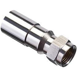 Ideal Rg6 F-compression Connectors, 50 Pk (pack of 1 Ea)