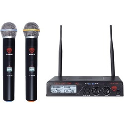Nady Dual Uhf Wireless Handheld Microphone System (pack of 1 Ea)